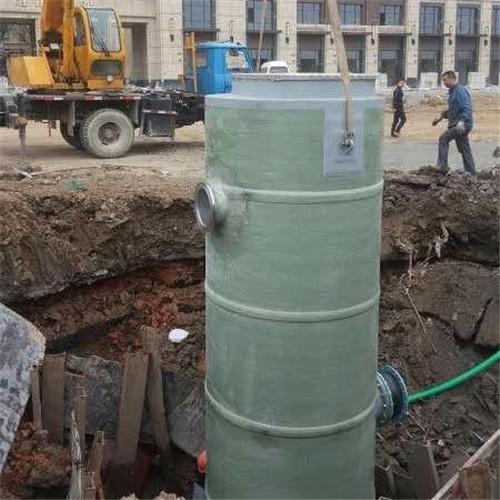 润平供水 水排放除臭处理 一体化预制泵站
