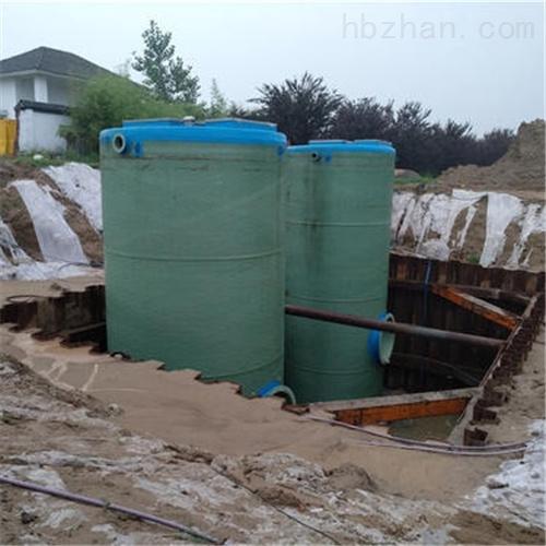 农田灌溉污水输送处理 一体化预制泵站