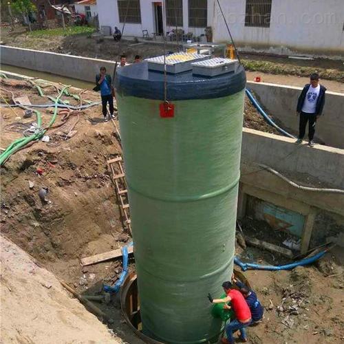 润平供水 处理污水排污除臭 一体化预制泵站