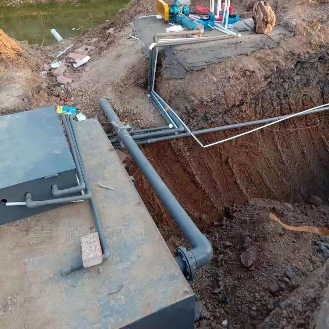 地埋式医院污水设备源头