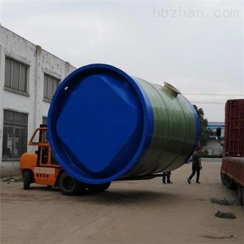 储存排水污水输送 一体化预制泵站