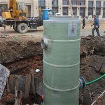 城市雨水收集和排涝 一体化预制泵站