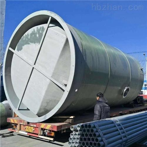 润平供水 地形地质污水排放 一体化预制泵站