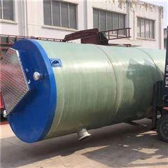 城市乡村降雨污水处理 一体化预制泵站