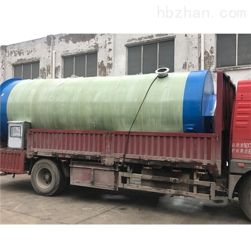 预制集成泵站污水排污除臭 一体化预制泵站
