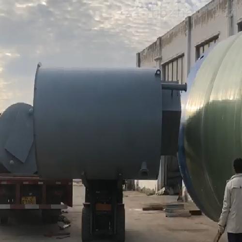 润平供水 污水长期滞留收集 一体化预制泵站