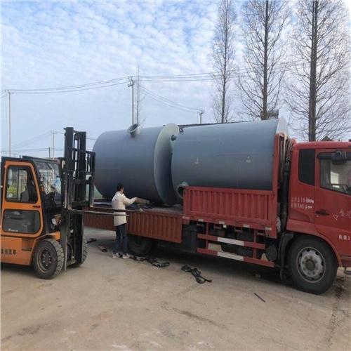 润平供水 处理玻璃钢污水 一体化预制泵站