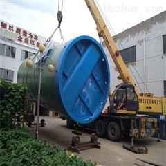 城市乡村污水过滤处理 一体化预制泵站