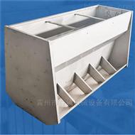 定制南昌可调节性不锈钢料槽-育肥双食槽