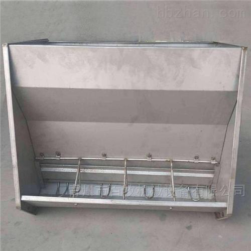 育肥双面食槽-不锈钢料槽使用说明
