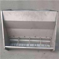 BM育肥猪舍不锈钢料槽-干湿料槽-双孔料槽