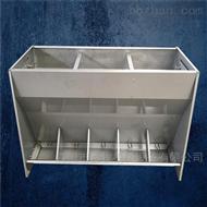 BM山东不锈钢料槽-双食槽生产厂家