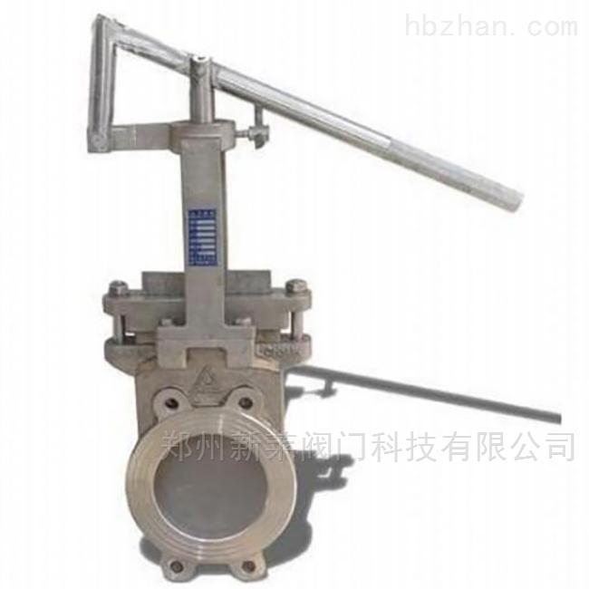 PZ873X-10杠杆式刀型闸阀