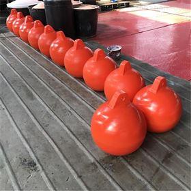 FQ400泳区景区警戒浮球水库红色白色警戒拦船浮球