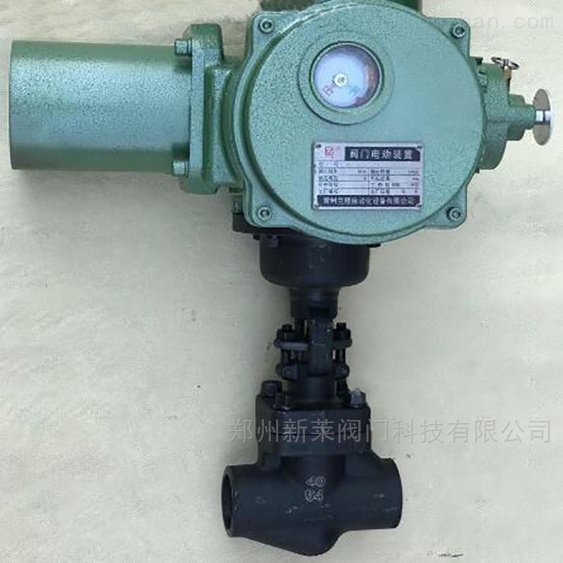 J961Y-100C电动承插焊锻钢截止阀