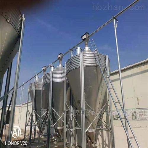 山东养殖料塔-镀锌板料塔厂家
