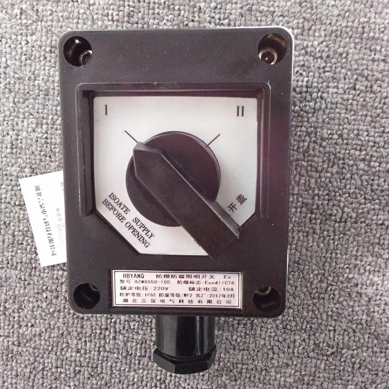 防爆单极开关bzm8050-10a照明开关EX