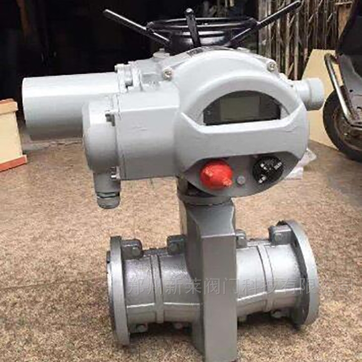 GJ941X-6L电动铝合金法兰管夹阀