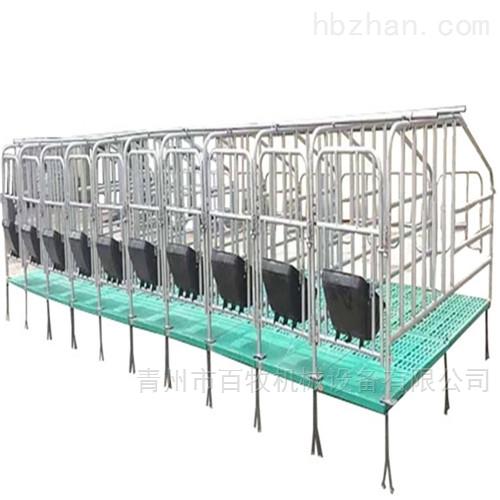 四川母猪限位栏-国标定位栏安装及维护