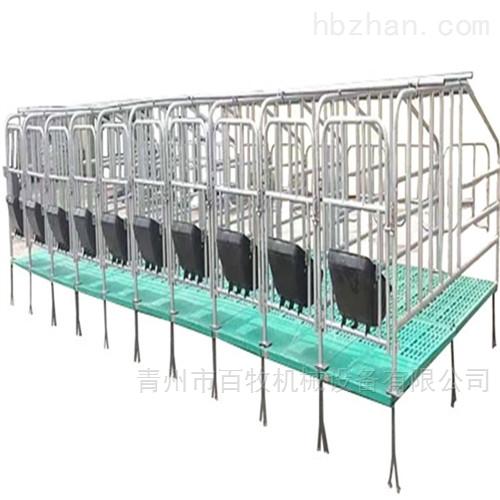母猪复合板限位栏-定位栏的安装步骤