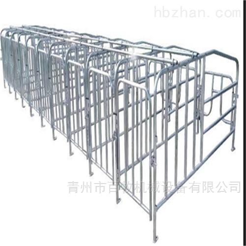 母猪热镀锌限位栏-定位栏-可批发定制