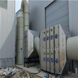 炼胶硫化机废气处理
