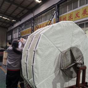 纤维滤布转盘过滤器水循环工作原理加工定制