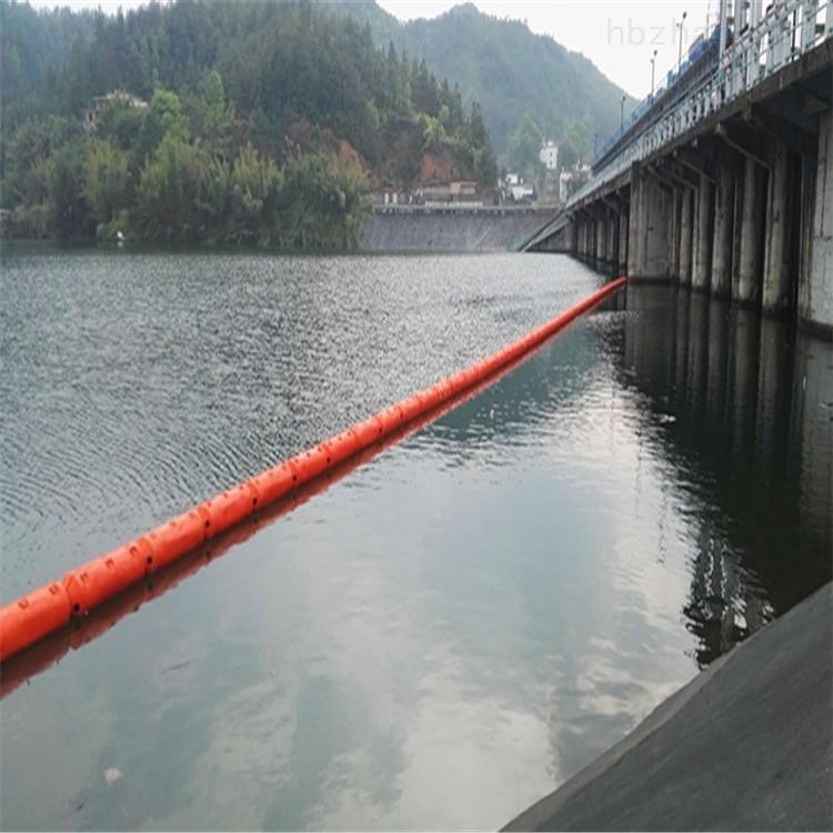 山区河道水库水面挡垃圾拦污浮筒