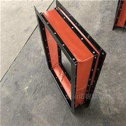 大口径耐腐蚀硅胶布风机软连接