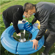 0.75kw南京兰江-太阳能喷泉曝气机