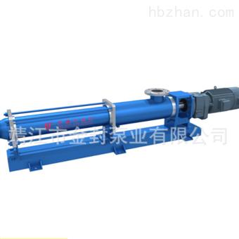 轴承支架型螺杆泵