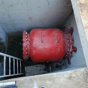 江西一體化柔性截流井廠家進口氣囊碳鋼材質