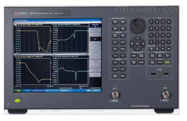 是德E5071C 8.5G 两端口矢量网络分析仪