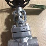 钛材质闸阀(锻体螺纹)