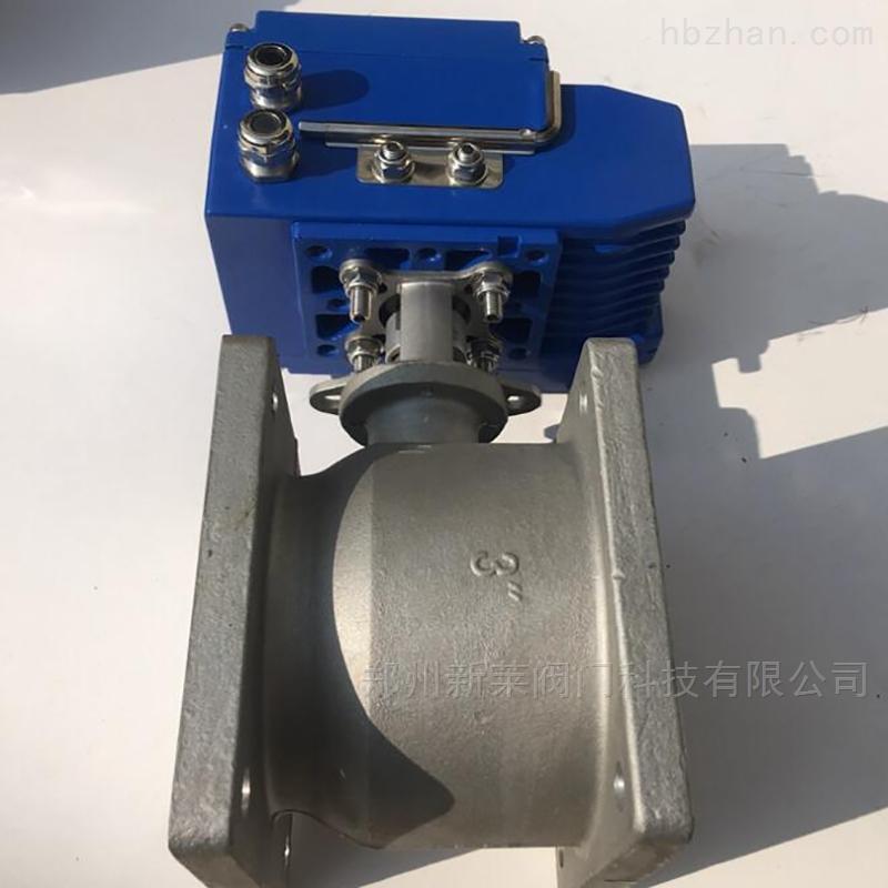 Q941F-10L电动铝合金槽车球阀