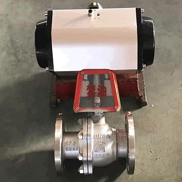 QY641F-16P气动不锈钢氧气球阀