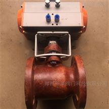 Q641SA-6气动玻璃钢球阀