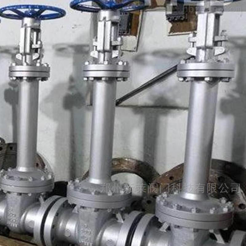 WZ41W-40P不锈钢波纹管低温闸阀