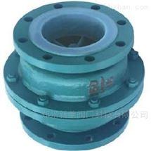 H40F46-16C浮球式衬氟止回阀