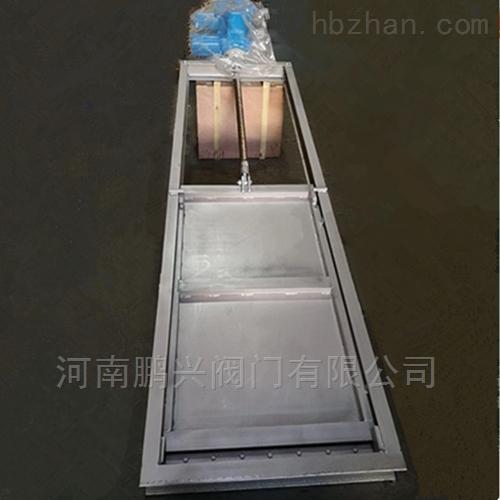 电动不锈钢渠道闸门