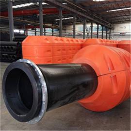 FT800*1100河道清淤疏浚工程管道托浮塑料管道浮筒