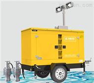 防洪发电排水泵车