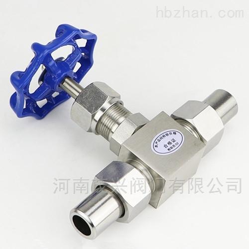 J23W不锈钢针型阀
