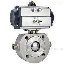 BQ671F-16P气动不锈钢对夹保温球阀