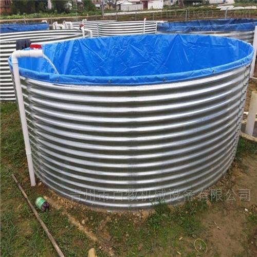 镀锌板加厚鱼池水产池
