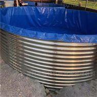 新款镀锌板养鱼池供货商