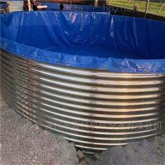 镀锌板室外养鱼池