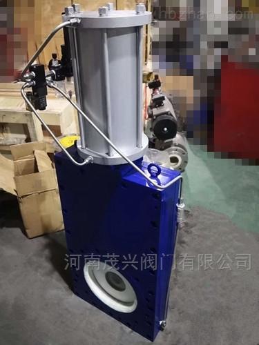 气动陶瓷单阀板闸