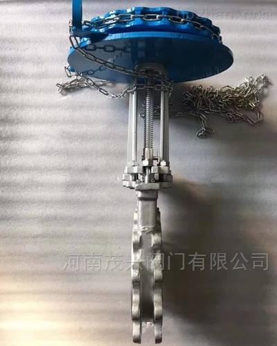 链轮式高温排渣阀