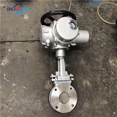 PZ973H-10P DN200SIL认证电动刀闸阀